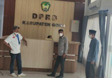 GSPI Sambangi DPRD Soal Surat Seleksi Kadus Alerang