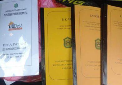 Laporan Pertanggung-Jawaban Mantan Plt Desa Patani Terjawab
